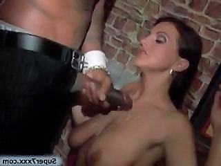 Brunette Cumshot Drunk  Party Club Drunk Party