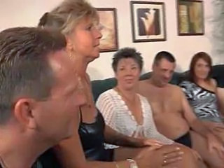 Granny Orgy Orgy Party