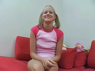 Cute Pigtail Young Audition Sister