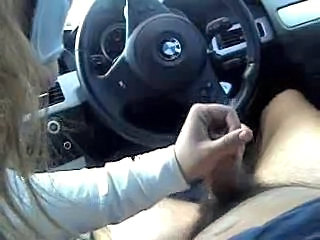 Amateur Blonde Car Handjob Handjob Amateur Amateur