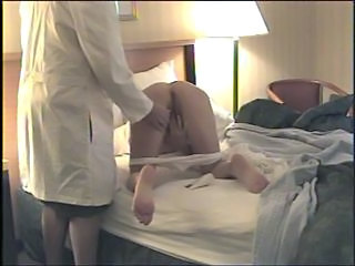 Doctor Masturbating Panty Uniform