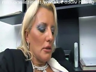 European Italian Mature Office Secretary Italian Mature European Italian