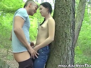 Outdoor Small Tits Student Outdoor