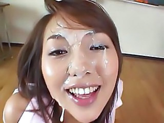 Bukkake Cute Cute Asian