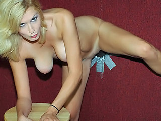 Amazing Blonde Gloryhole  Natural Pornstar