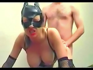Doggystyle Fetish Hardcore  Wife Fishnet Mask