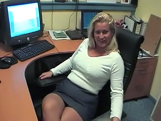 Amateur  Office Secretary Skirt Milf Office Office Milf Amateur