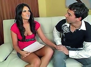 Brunette Cute  Interview Cute Brunette