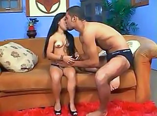 Kissing Latina  Mature Midget Drilled