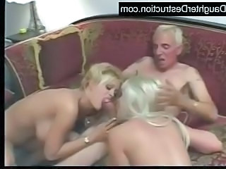 Blonde Blowjob Extreme Old and Young Threesome Young Daddy Old And Young Threesome Blonde