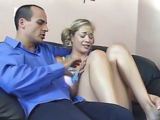 Babysitter Blonde Facial Cute Pigtail Cute Blonde Blonde Facial