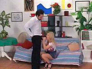 Babysitter Blonde Blowjob Handjob Blonde Housewife Housewife