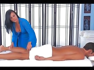Babe Brunette Massage Natural Babe Ass Massage Babe
