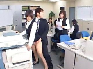 Asian Cute Office Public Secretary Cute Asian Public Asian Public