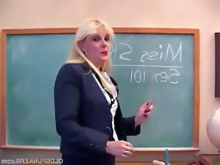 Blonde  School Teacher School Teacher