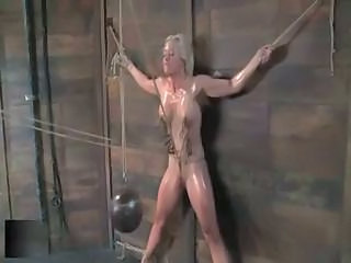 Bdsm Blonde Bondage Pain Tied Bdsm Abuse