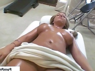 Babe Blonde Bus Massage Natural Oiled Busty Babe Babe Ass Massage Busty Massage Babe Massage Oiled Oiled Ass