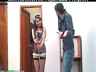 Fantasy Fishnet Maid Uniform Fishnet Spanish Fuck