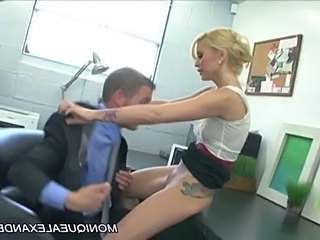 Blonde Clothed Licking  Office Pornstar Tattoo Pussy Licking Milf Office Office Milf Office Pussy