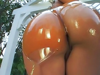 Ass Ebony Oiled Outdoor Pornstar Ebony Ass Outdoor Oiled Ass