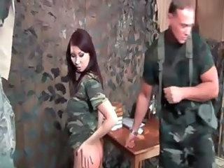 Army Asian Fantasy  Uniform Whip Milf Asian
