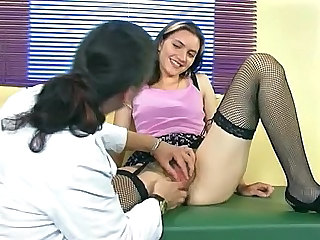 Fisting Hairy Lesbian Pussy Stockings Stockings Fisting Lesbian Pussy Fisting