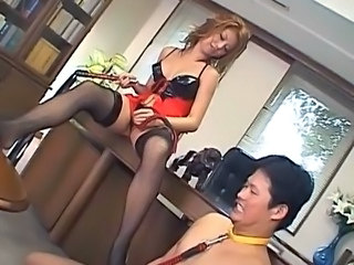 Asian Femdom  Slave Mistress Rough Milf Asian