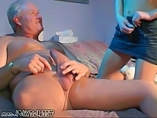 Amateur Cute Old and Young Skirt Cute Amateur Grandpa Old And Young Amateur