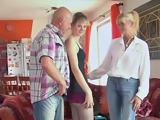 Mature Mom Old and Young Threesome  Son Old And Young Young Girlfriend Mature Threesome Mom Son Threesome Mature
