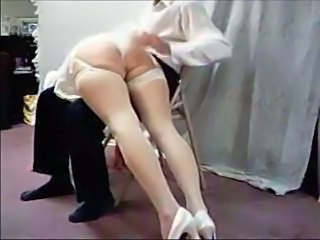 Bride Spanking Stockings Wife Wedding Dress Stockings