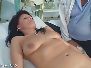 Doctor Mature Older  Gyno Doctor Mature Mature Pussy