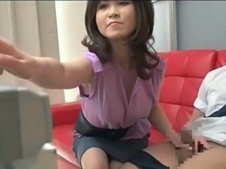 Asian Handjob  Small cock Son Handjob Cock Handjob Asian Milf Asian Mother Small Cock