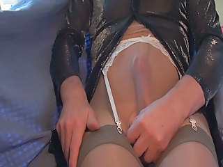 Man Pantyhose Rough
