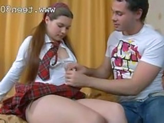 Babysitter Chubby  Uniform Chubby Anal