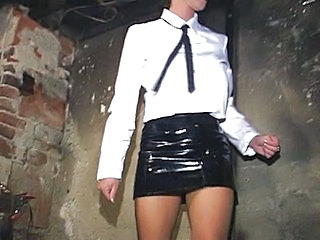 Bdsm Latex Skirt Torture Mistress Bdsm