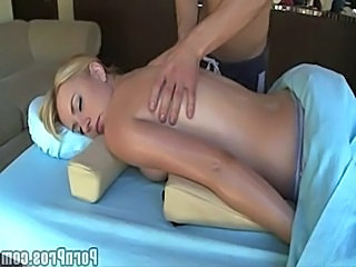 Babe Blonde Massage Babe Ass Massage Babe