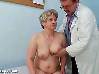 Doctor Mature Older Uniform Gyno Doctor Mature Mature Pussy