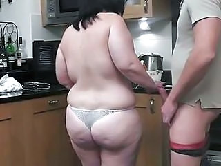 Ass  Kitchen Wife Fat Ass Bbw Wife Wife Ass