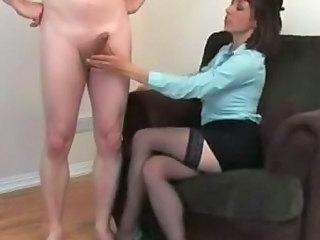 Handjob Stockings Cfnm Handjob Stockings Handjob Cock