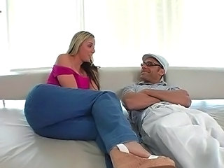 Blonde Casting Jeans Huge Tight Jeans
