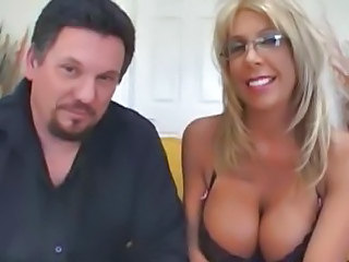Blonde Glasses Mom Blonde Mom Glasses Busty Milf Ass