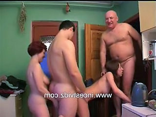 Family Kitchen Mom Orgy Orgy Family