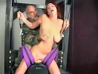 Forced Machine Old and Young Redhead Old And Young Sybian Forced
