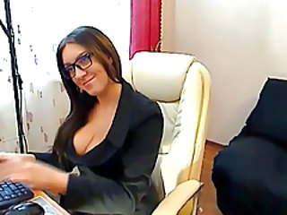 Glasses  Office Secretary Czech Stockings Milf Ass Milf Stockings Milf Office Office Milf