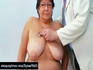 Bus Granny Older Granny Busty
