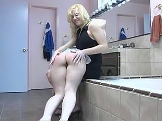 Ass Bathroom Blonde Lesbian Maid Blonde Lesbian Bathroom Maid Ass