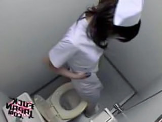 HiddenCam Toilet Voyeur Hidden Toilet Japanese Nurse Nurse Japanese Toilet Sex