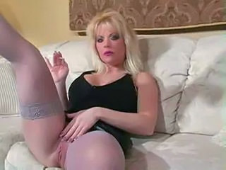 Blonde  Pussy Smoking Stockings Stockings Milf Stockings