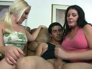 Family Handjob Threesome Daughter Mom Aunt Daughter Jerk Mom Daughter