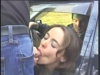 Blowjob Car Clothed European French Outdoor Public Car Blowjob Outdoor European French Public